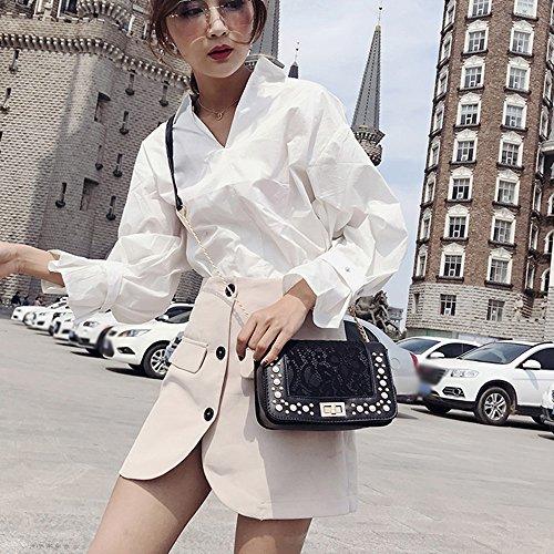 Bags Bags Bag Shoulder Bags Janly Women Crossbody Luxury Bags Black Coin Messenger Black Pearl Girls Phone Small Handbags 0AvUqUw