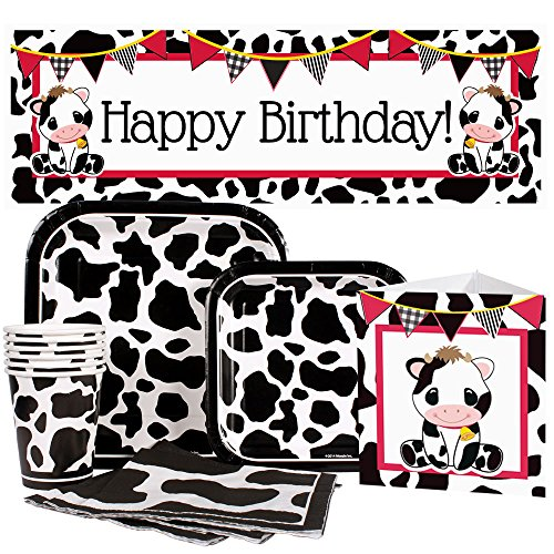 Cow Party Package for 16 Guests