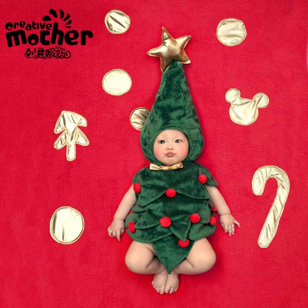 Househome Ropa Para Bebé s, Ropa Para Bebé s, Adecuada Para Bebé s De 100 Dí as, Forma De Á rbol De Navidad Ropa Para Bebés Adecuada Para Bebés De 100 Días Forma De Árbol De Navidad