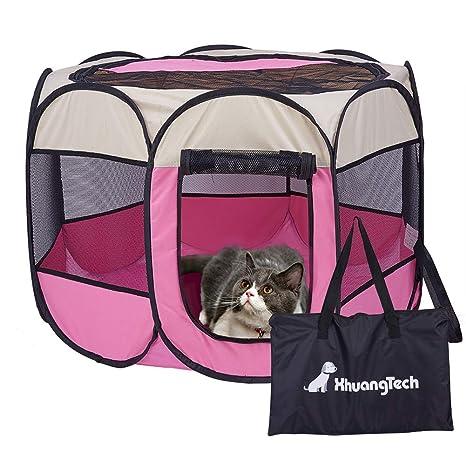 XianghuangTechnology - Jaula de Tela Suave, portátil, Plegable, para Mascotas, Perros,
