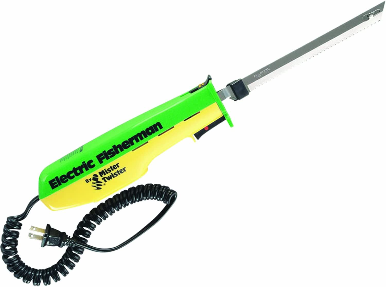 Mister Twister 120V Electric Knife Green / Yellow with Black Cord