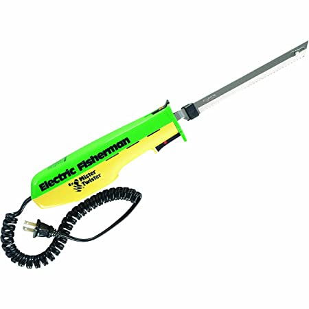 5. Mister Twister 120V Electric Knife (Green/Yellow)