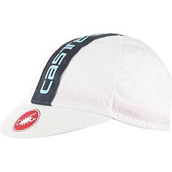 Castelli Gorra Ciclista 2017 Retro 3 Washed Blanco (Default, Blanco)