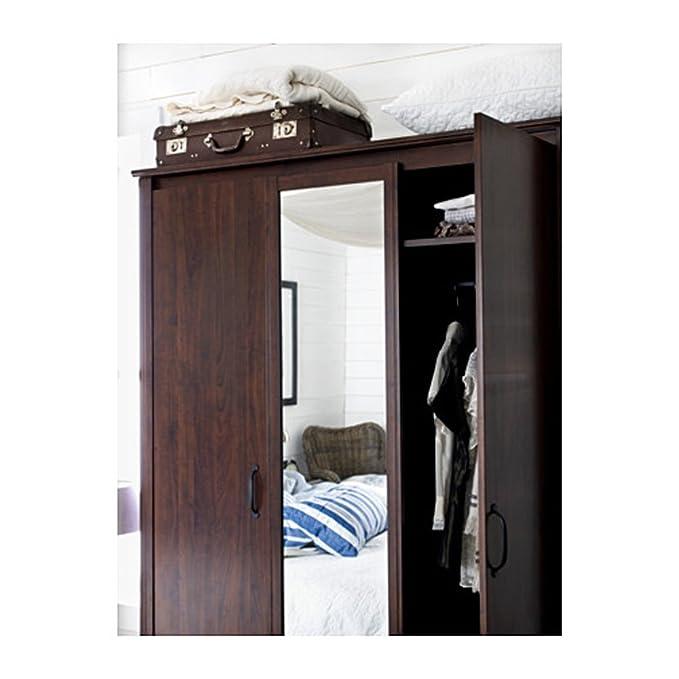Amazon.com: BRUSALI Home recámara wardrobeswardrobe con 3 ...
