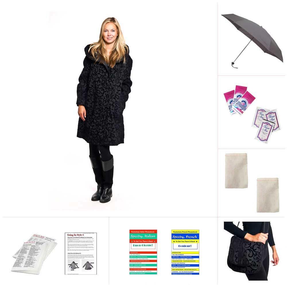 Mycra Pac Short Donatella Raincoat - Scroll by Mycra Pac