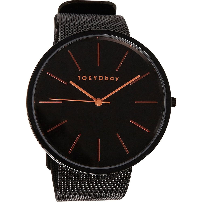 TokyoBay Jet Uhr - Schwarz