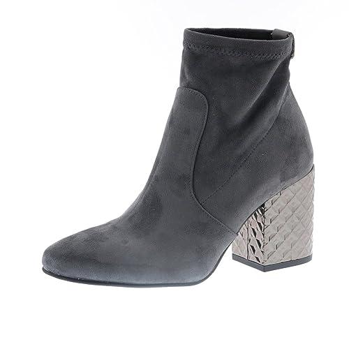 PEDRO MIRALLES Zapatos Mujer Botas Botines 29785 Gris 40: Amazon.es: Zapatos y complementos