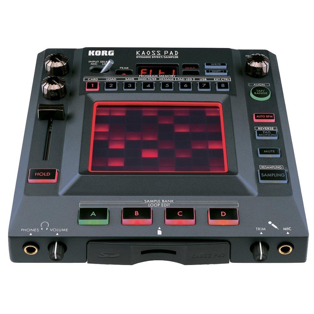 Korg KP3 Kaoss Pad Dynamic Effects Sampler Korg USA Inc.