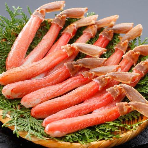 札幌蟹販 6L生冷ズワイ蟹棒肉 1.0kg (21~30本入・加熱用)