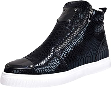 Men's Casual Shoes High-heeled Shoes