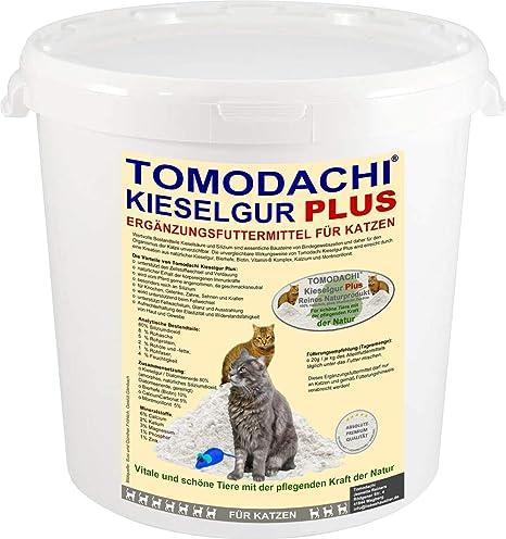 Kiesel Tierra Plus Biotina para gatos, producto natural, admite, piel, Garra de