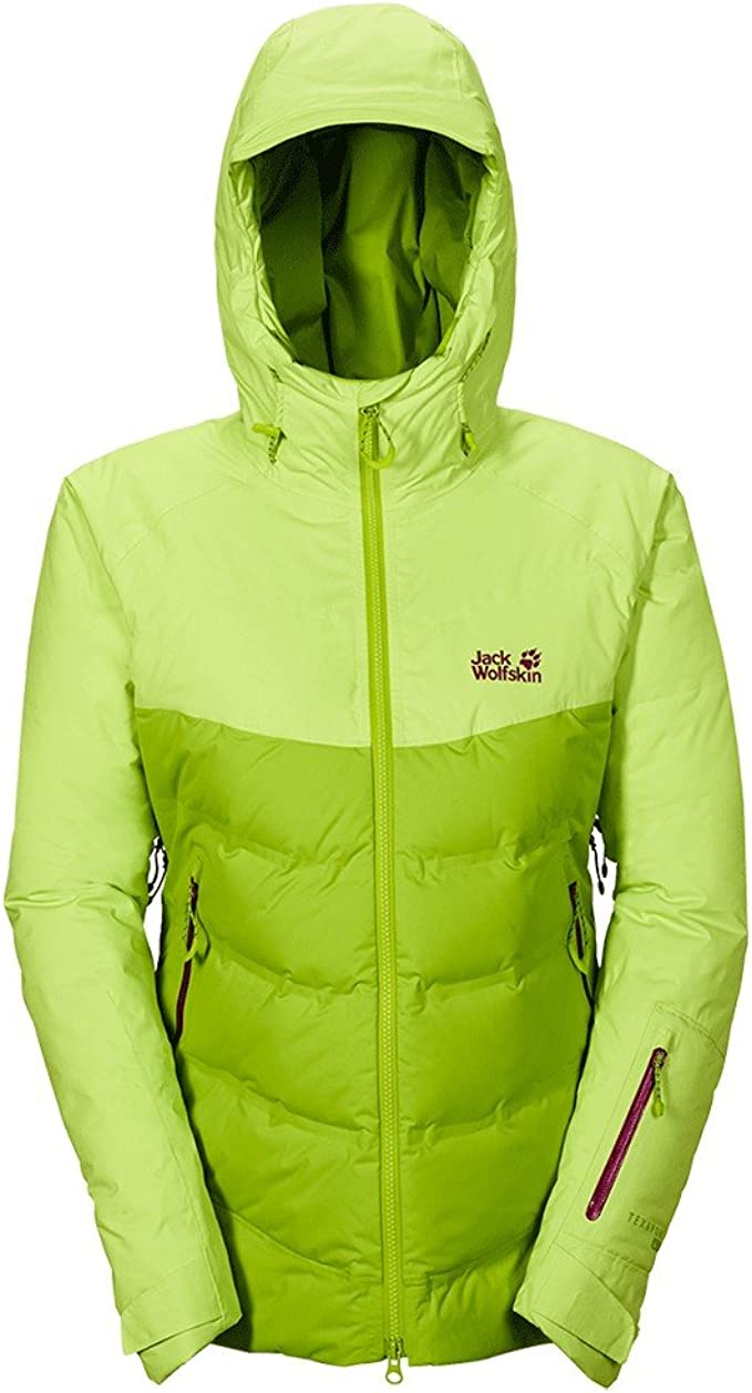 Jack Wolfskin W Texapore Downshell TEC Jacket Lime Green