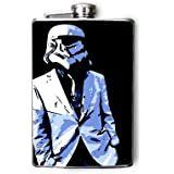 Star Wars Storm Trooper Decorated 8oz. Stainless Steel Flask - FN161