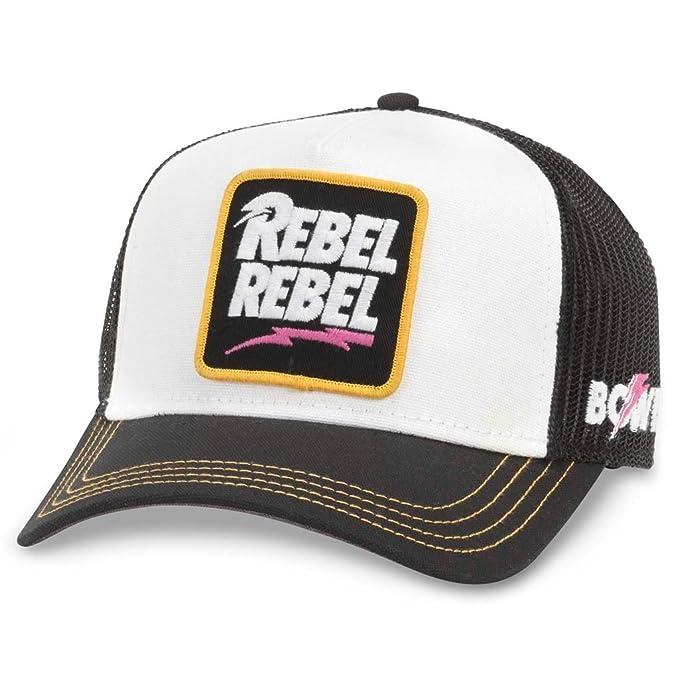 ca324d54e4d05f American Needle Valin Mesh Trucker Snapback Hat, David Bowie
