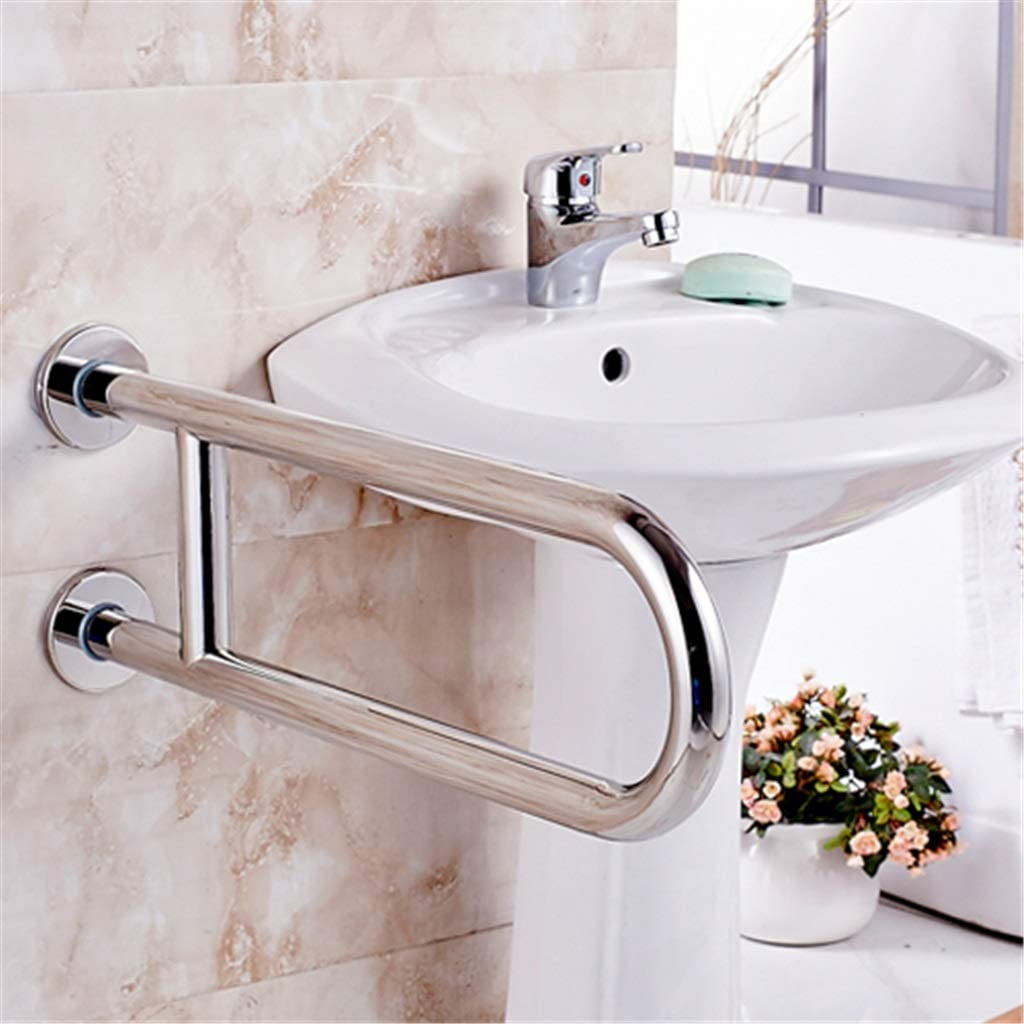 Bathroom Toilet Handrail Stainless Steel Barrier-Free Handle Bathroom Safety Non-Slip Handle for Elderly Pregnant Use 61Bz1TCZMuLSL1024_