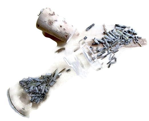 Mm Gray Rough Diamond Sticks Raw Diamond Pipes Bottle Jewelry
