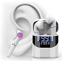 (2021 Nuevo modelo) Cheelom Audífonos Inalámbricos Bluetooth 5.0,Reducción de ruido e impermeable,Alta calidad de sonido…