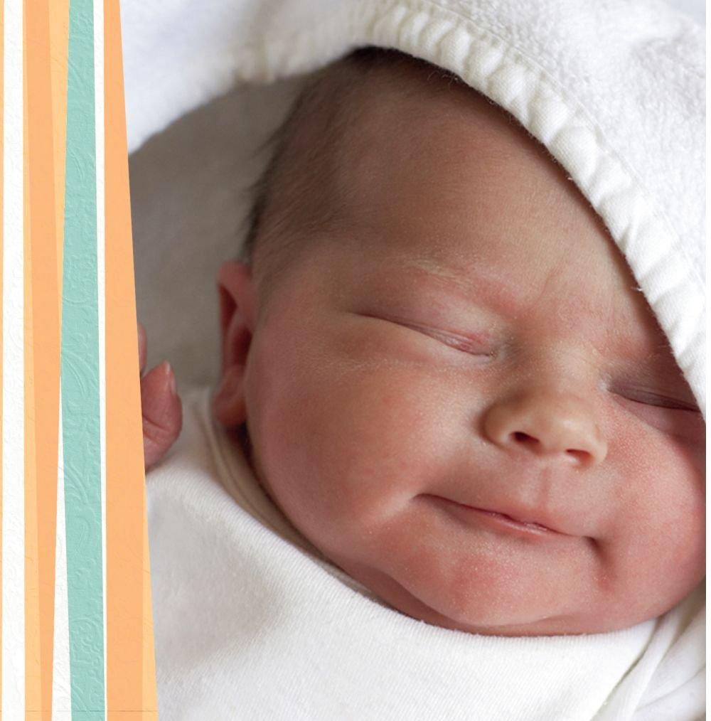 Kartenparadies Danksagung für Geburt Baby Dankeskarte hearts and and and stripes, hochwertige Danksagungskarte Baby inklusive Umschläge   100 Karten - (Format  145x145 mm) Farbe  Grasgruen B01N7Y4NPH | Bestellung willkommen  | Sale Deutschland  | Neue 33175d