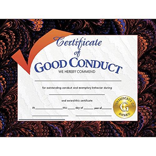 Good Conduct Certificate (Set of 30) (Good Behavior Tickets)