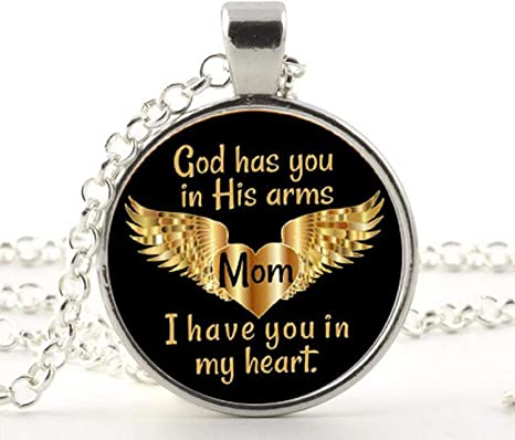 vast selection order usa cheap sale Amazon.com: in Memory of Mom Memorial Necklace Jewelry ...