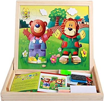 Toys of Wood Oxford Lavagnetta con Cavalletto per Bambini