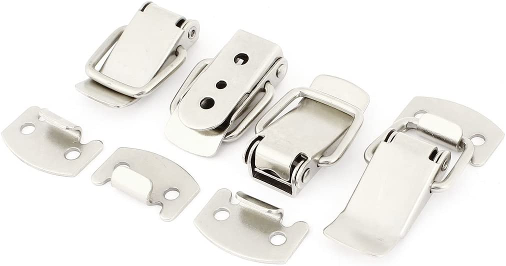 Uxcell Spring Loaded Case Box Chest Trunk Toggle Latch Catch Clamp a14061300ux0541 4 Sets