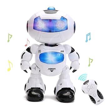 Wishtime Intelligent Robot Jouet pour Enfant Commandé à Distance ...