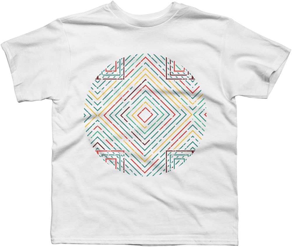 Abstract Art Boys Youth Graphic T Shirt Design By Humans