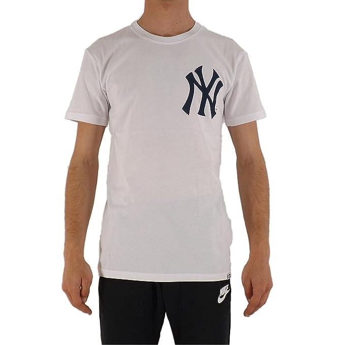 Majestic New York Yankees Noos Gamily T-Shirt Uomo Bianco M (Medium ... cebc0277246a