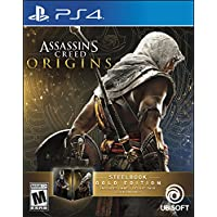 Assassin's Creed Origins SteelBook Gold Edition -...