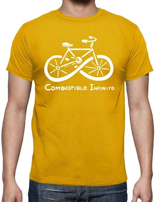 latostadora Camiseta Combustible Infinito Bicicleta ecológica ...