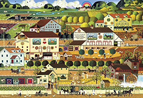 Buffalo Games - Charles Wysocki - Amish Country - 2000 Piece Jigsaw Puzzle