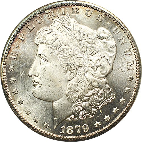 1879 S Morgan Dollars Dollar MS66 NGC\CAC (David Lawrence Rare Coins)