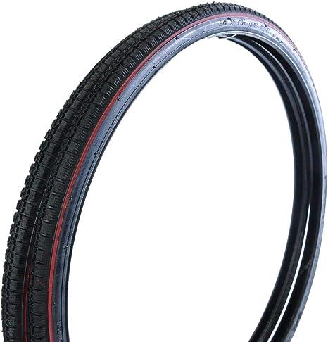 Hard to find bike parts Neumáticos para Bicicleta de Carretera clásica de 26 x 1 3/8 590 – 37 reclinables: Amazon.es: Deportes y aire libre
