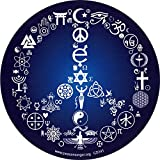 Coexist Peace Sign - Bumper Sticker Decal (5