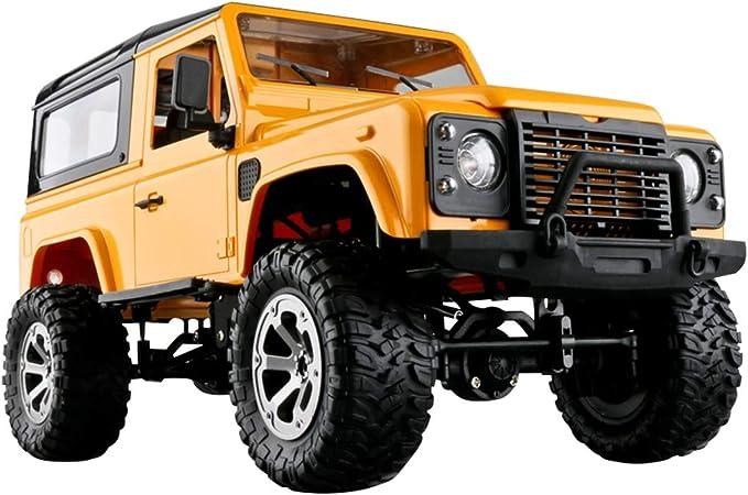 52Km//H avec 4 Roues Motrices WYFDM Buggy Voiture T/él/écommand/ée 1:16 RC Camion Tout-Terrain Imperm/éable IPX4 Voiture De Course /À Grande Vitesse pour Les Enfants Et Les Adultes,Orange