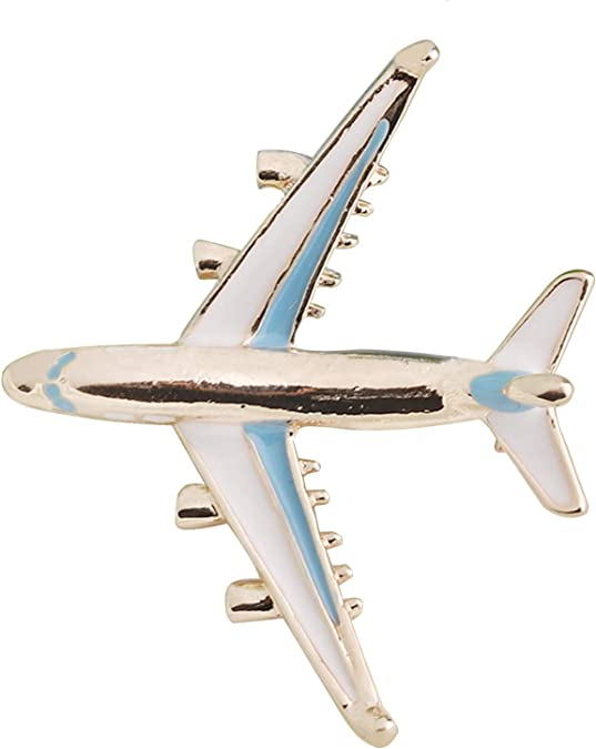 Airplane Necklace Aircraft Pendant Flight Attendant Jewelry Pilot Gifts for Aviation Traveler