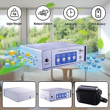 Portátil Concentrador de oxígeno con Bolsa 1-3L / min Ajustable ...
