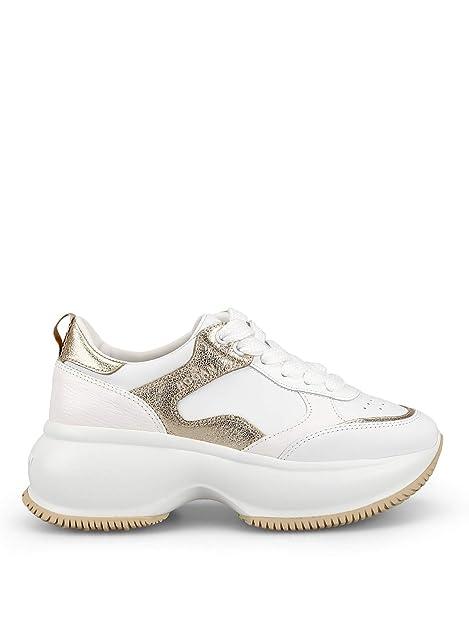Bianche Maxi Active Donna Sneaker Hogan Oro E Hxw4350bn50kox0st1 I 1w5gnHxTq