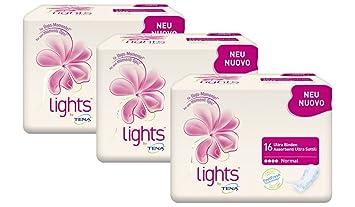 Lights By TENA Ultra Binden Normal U2013 Inkontinenz Binden Gegen Leichte  Blasenschwäche Bei Frauen,