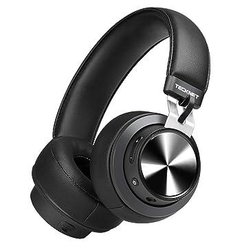 ... de Audio de 3,5 mm, Auriculares Estéreo Inalámbricos con Micrófono con Cancelación de Ruido para Teléfonos Celulares/PC de TV: Amazon.es: Electrónica