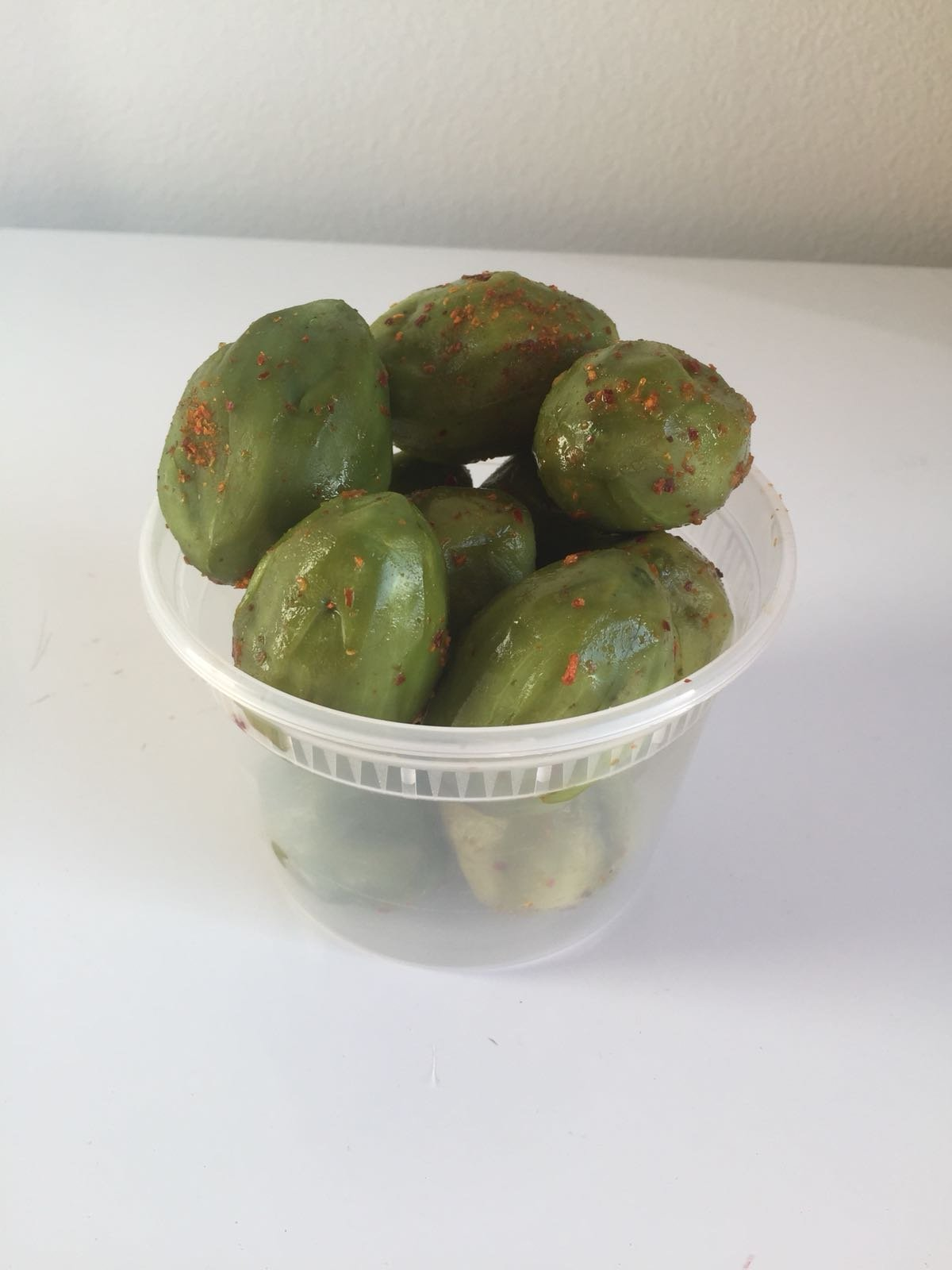 Pickled Kedondong (June Plum) from Bogor Indonesia (non spicy) 500g (Pack of 6)