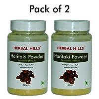 Herbal Hills Haritaki Powder - 100g Each (Pack of 2) - Bottle
