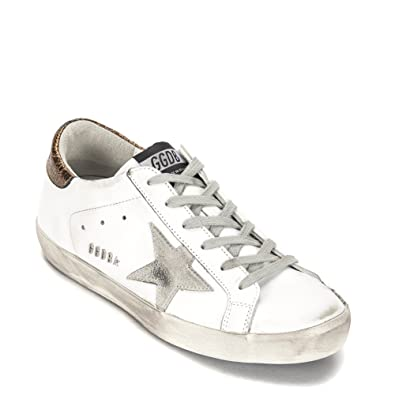 Sneakers for Women, White, Leather, 2017, 4.5 7.5 Golden Goose