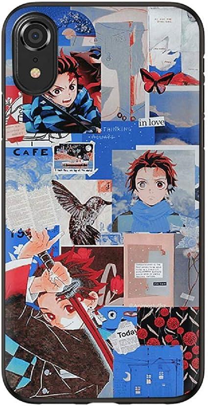 Soft Phone Cases Anime Demon Slayer Kimetsu no Yaiba: Amazon.co.uk: Electronics