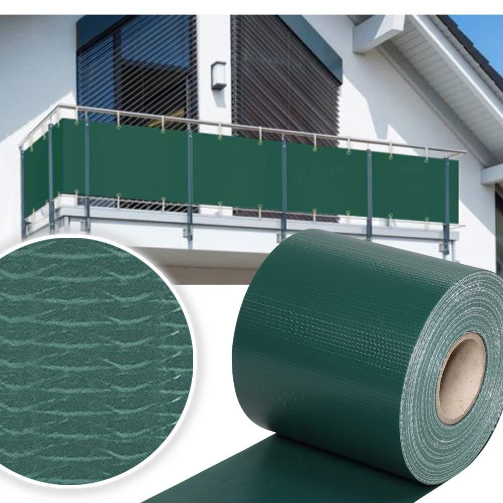 HG® PVC Valla Protectora de privacidad 2x35m | Estera Protectora de Intimidad Cañizo de PVC Doble Cara para Jardín Balcón