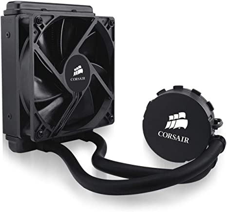 Corsair Hydro Series H55 - Sistema de Refrigeración Líquida (Radiador de 120 mm, All-in-One Liquid CPU Cooler), Negro: Amazon.es: Informática