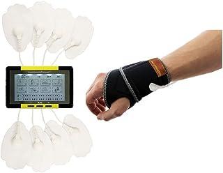 HealthmateForever 8 modes Personal Best électrique tactile Massager Impulse écran Jaune