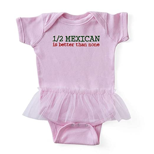 4987ac46a Amazon.com: CafePress Half Mexican Cute Infant Baby Tutu Bodysuit: Clothing