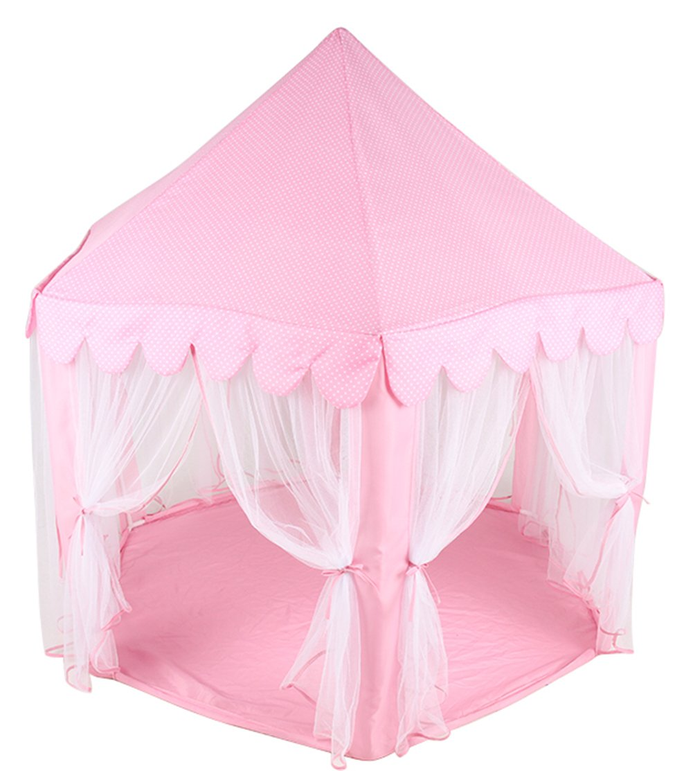 Amazon.com Princess Castle PLay Tent By Sid Trading fairy princess castle (Pink) Toys u0026 Games  sc 1 st  Amazon.com & Amazon.com: Princess Castle PLay Tent By Sid Trading fairy princess ...